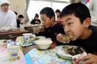 小学校給食にミシュラン二つ星の味 食育授業で - 神戸新聞