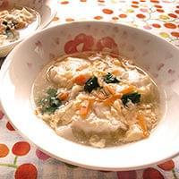 冷凍シューマイのかきたまスープ : yomiDr. / ヨミドクター(読売新聞)