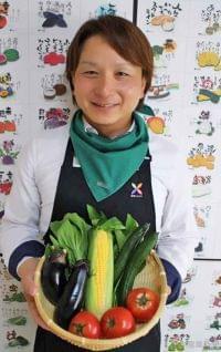 日本農業新聞 - 塗り絵で楽しく食育 おうち時間を応援 ご当地農産物が登場 福岡・吉田さんSNSで発信
