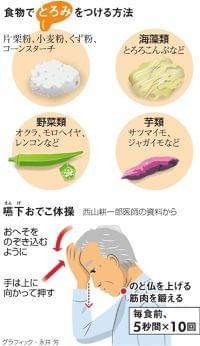 とろみで誤嚥を予防 食事を楽しむ:朝日新聞デジタル