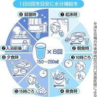 暑さで脱水「夏血栓」注意 脳梗塞などの引き金に:東京新聞 TOKYO Web