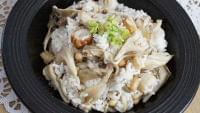 マイタケの混ぜご飯…大豆が含まれているのが給食らしい : yomiDr./ヨミドクター(読売新聞)