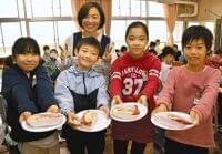 伊勢エビ給食に児童笑顔 船橋の三山東小:東京新聞 TOKYO Web