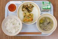 学校給食甲子園ベスト12 大村市中学校センター 彩り野菜の卵焼きなど 地元食材「意欲的に調理」