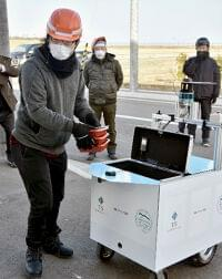 栄養管理弁当をロボット配送へ 南相馬 数年後に事業開始
