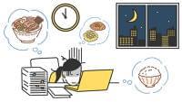 不規則な食生活はメンタル不調のリスクに 国内労働者4千人超の調査結果