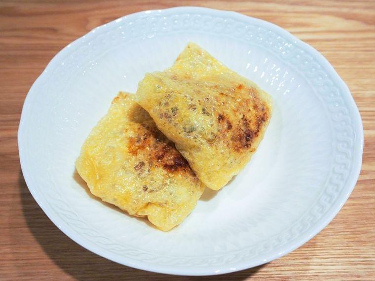 【レシピ】旬の食材を使った納豆巾着