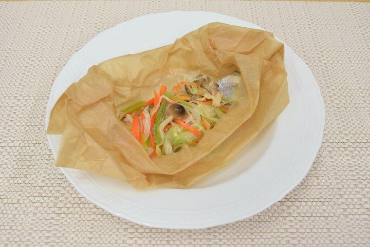 【レシピ】タラのレンジ蒸し