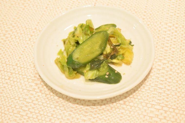 【レシピ】野菜の即席漬け