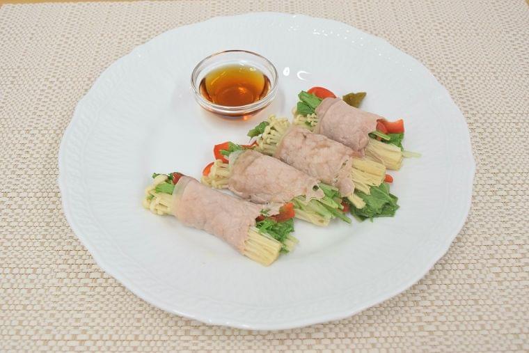 【レシピ】豚肉の蒸ししゃぶしゃぶ