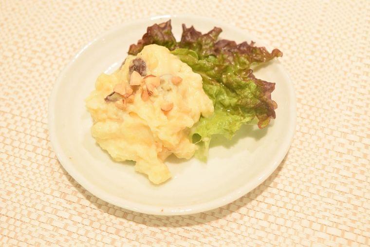 【レシピ】焼いものヨーグルトサラダ