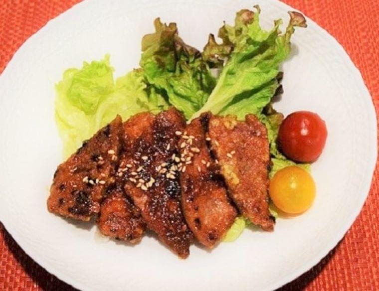 【レシピ】レバーのかりん焼き