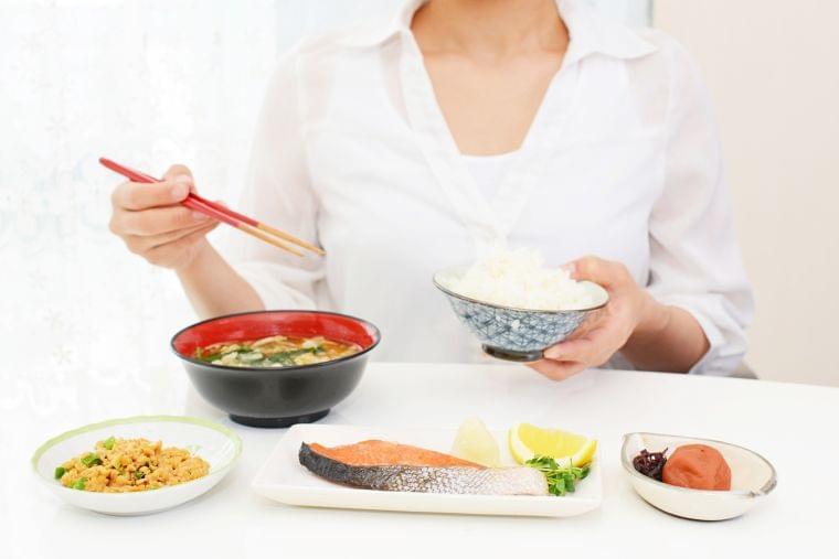 血糖値を上げにくくする食事の工夫①