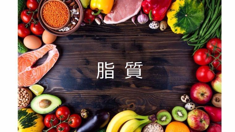 栄養素について知ろう③「脂質」とは?
