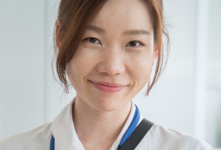 大学院で臨床と研究に興味を持ち、食品メーカーで活躍中の管理栄養士 泉綾子さん