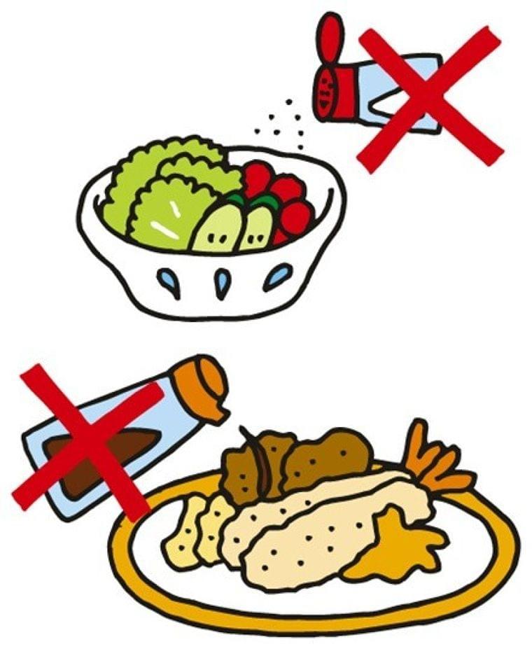 塩分控えめな食事のススメ(会報誌「あはは」連載)