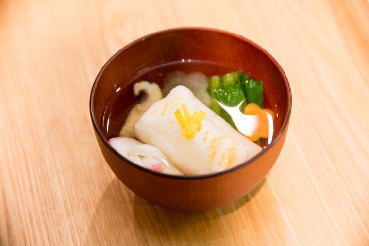 【レシピ】焼き餅雑煮