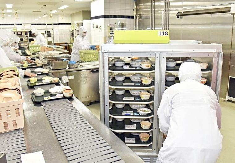 ノロウイルス死滅の給食カート 全国初、福井県立病院が運用開始 | 医療,政治・行政 | 福井のニュース | 福井新聞ONLINE