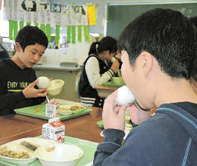 おにぎりはおいしいんだな 給食発祥の地の特別メニューは… | 河北新報オンラインニュース