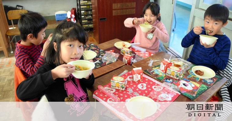 シャン・カウスエ、クイティウ… 給食で学ぶ「世界」:朝日新聞デジタル