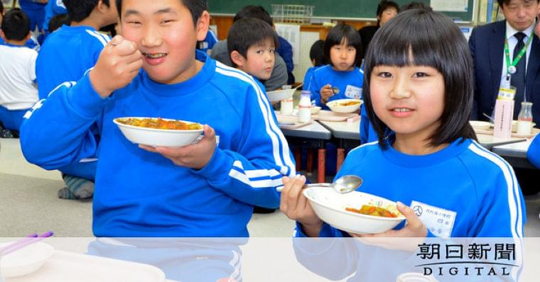 福井)小浜の小学校で鹿肉カレーのジビエ給食:朝日新聞デジタル