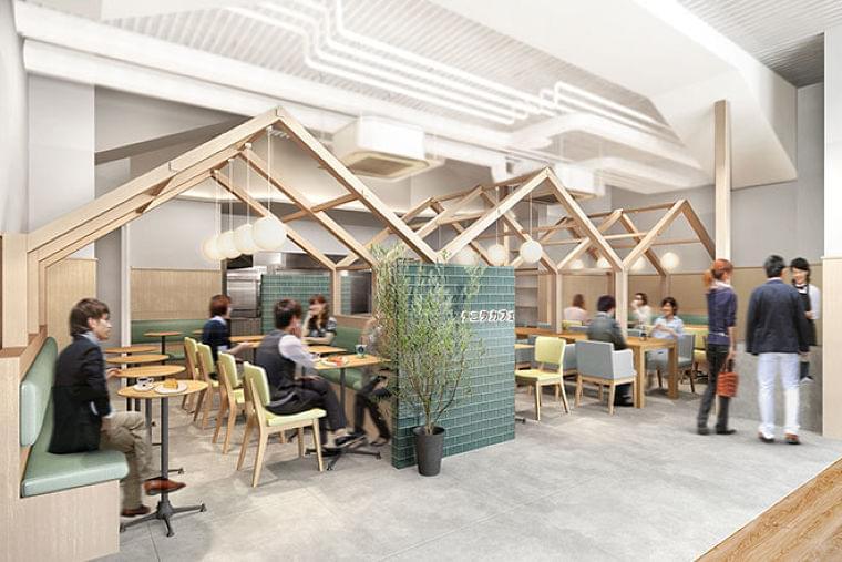 タニタの新業態はカフェ 狙うは健康に関心が低い層 - 日経トレンディネット
