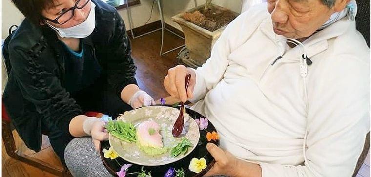 ジェントルスティム導入 嚥下食レシピも進化中 | アイデアニュース