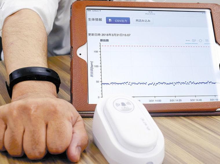 在宅患者の体調、24時間把握…リストバンド型端末が脈拍数を自動送信 : yomiDr. / ヨミドクター(読売新聞)