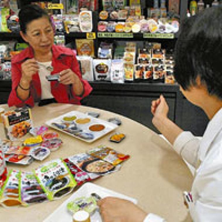 高齢者  食を楽しむ(下)おいしい介護食  食欲増進 : yomiDr. / ヨミドクター(読売新聞)