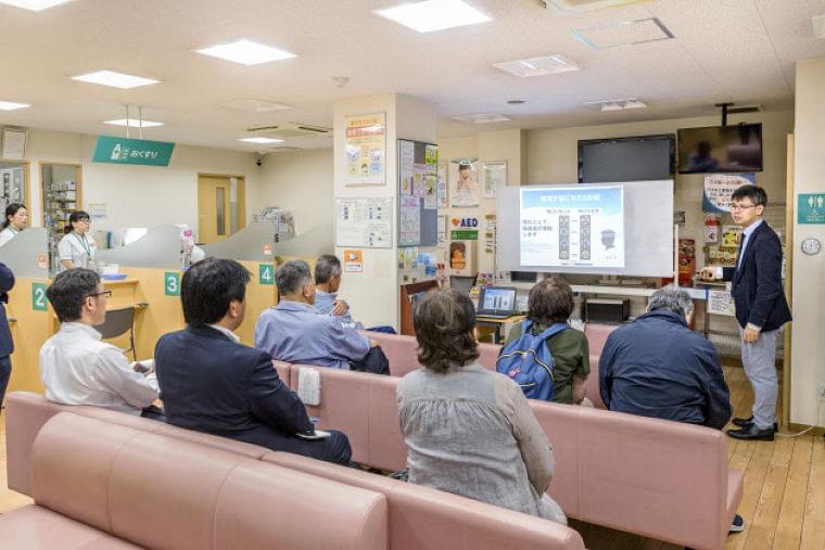 「そうごう薬局」で口の健康チェック ロッテと共同啓発  :日本経済新聞