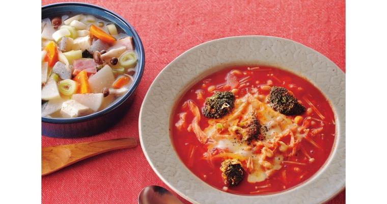 コンビニ食材だけでできる 7日間スープダイエット WOMAN SMART NIKKEI STYLE