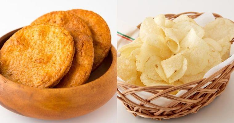 ポテチとせんべい、どっちが塩分多い?身近な食品で減塩対策|男の健康|ダイヤモンド・オンライン