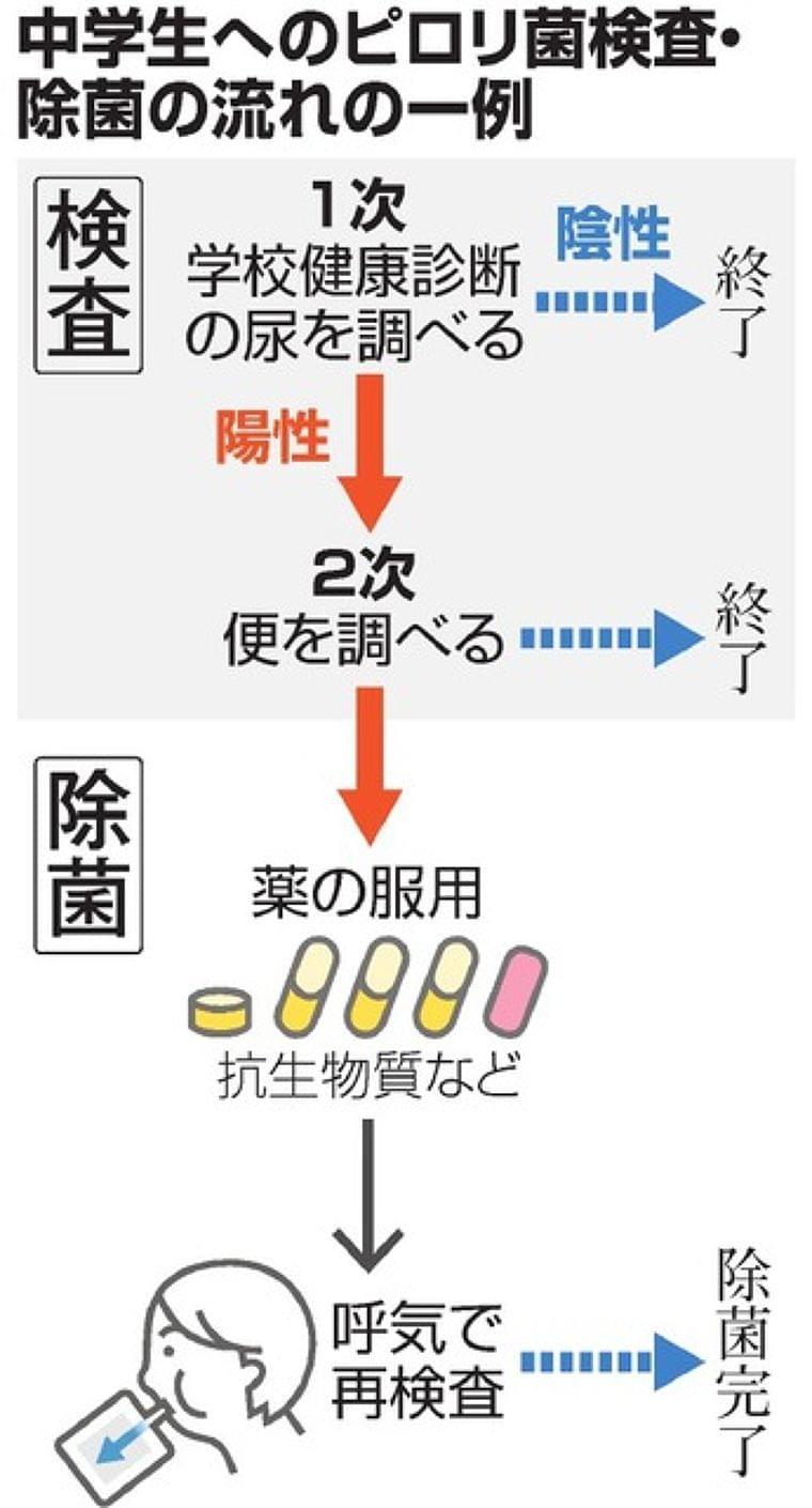 子どものピロリ菌対策は必要? 検査や除菌、学会で賛否:朝日新聞デジタル