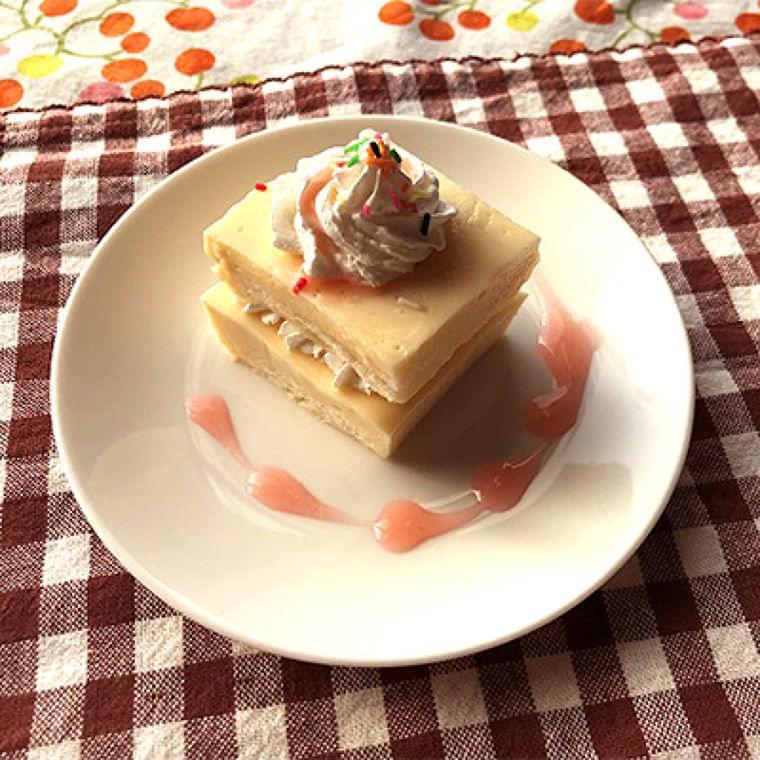 プルンとしっとりクリスマスケーキ風 : yomiDr. / ヨミドクター(読売新聞)