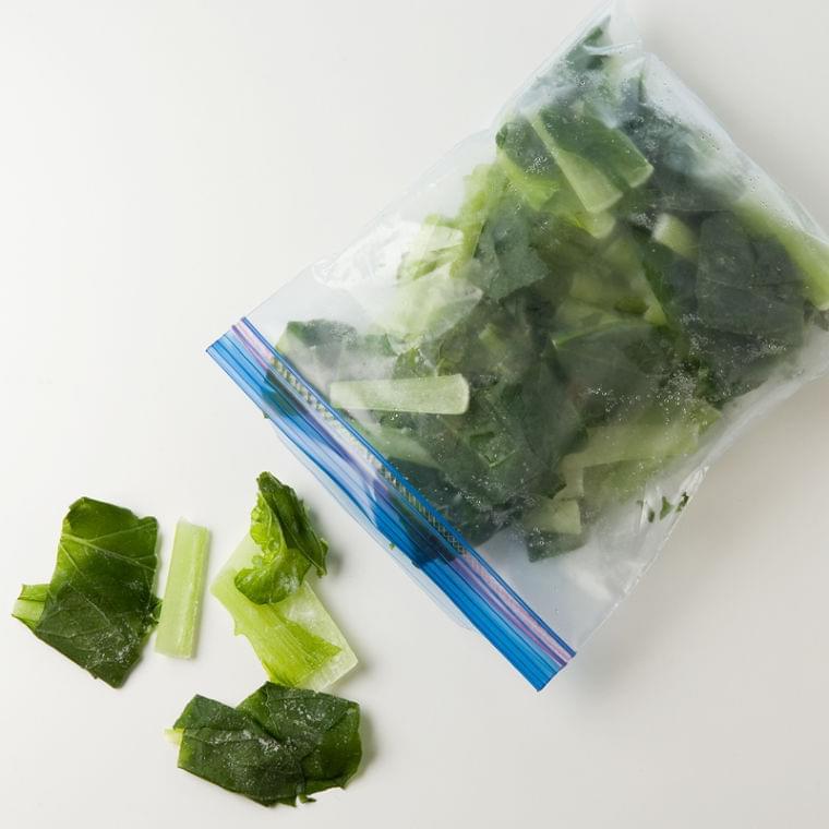 冷凍保存で冬野菜をもっと活用!冷凍小松菜お手軽レシピ (1/1)| 介護ポストセブン