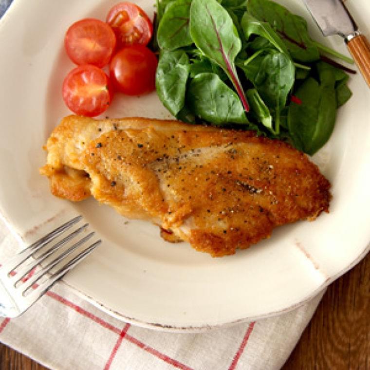 減塩でおいしい! 鶏むね肉のカリカリチーズ焼き : yomiDr. / ヨミドクター(読売新聞)