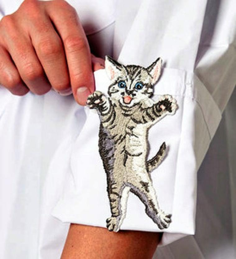 白衣から猫、メタボひと目で分かるパンツ…広告医学の力(朝日新聞) - goo ニュース