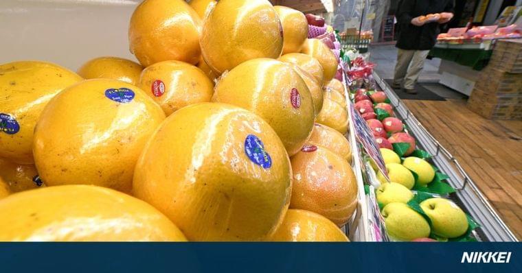 グレープフルーツ離れ? 支出額、ピークの5分の1に: 日本経済新聞