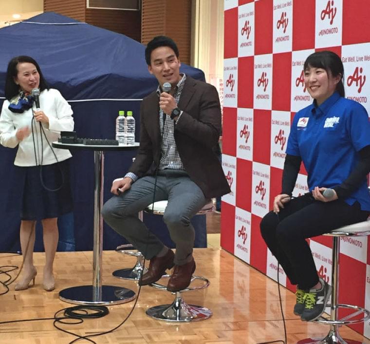 味の素、アスリートの「勝ち飯」 受験や部活向けレシピ  :日本経済新聞