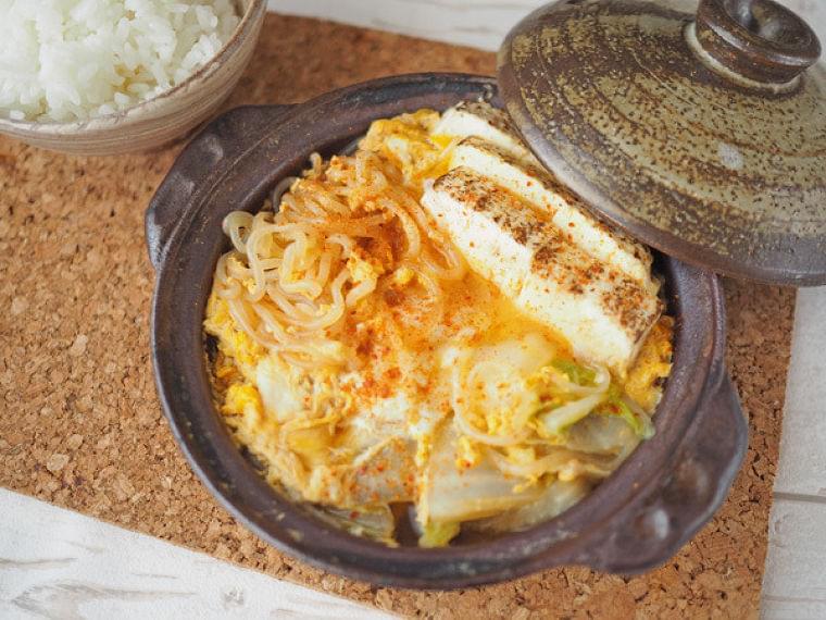 ビジネスマンのためのダイエット夜食(64) 低カロリーでも高い栄養価! しらたきと白菜の卵とじ豆腐 | マイナビニュース