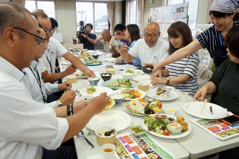 スマートミール 東松島の3店舗 来月県内初認定へ 官民で健康メニュー開発 外食でヘルシーな暮らし - 石巻日日新聞