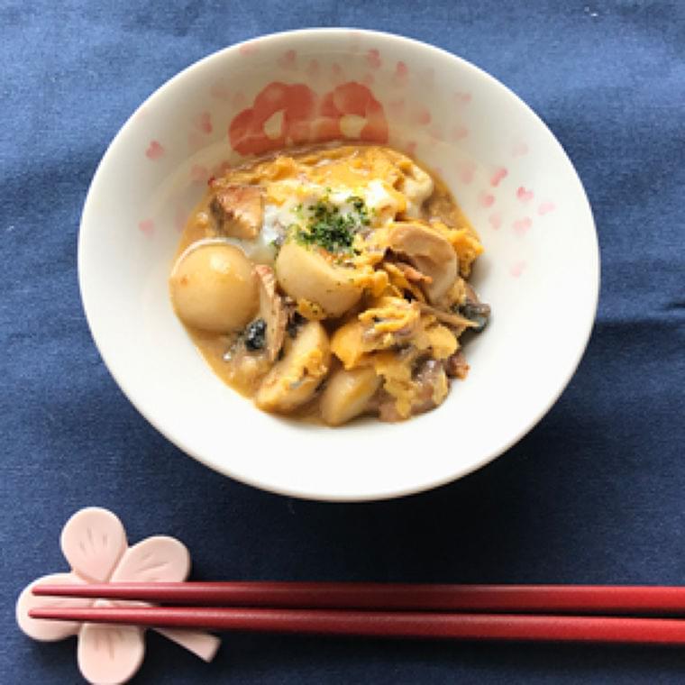 残った煮物で卵とじ : yomiDr. / ヨミドクター(読売新聞)