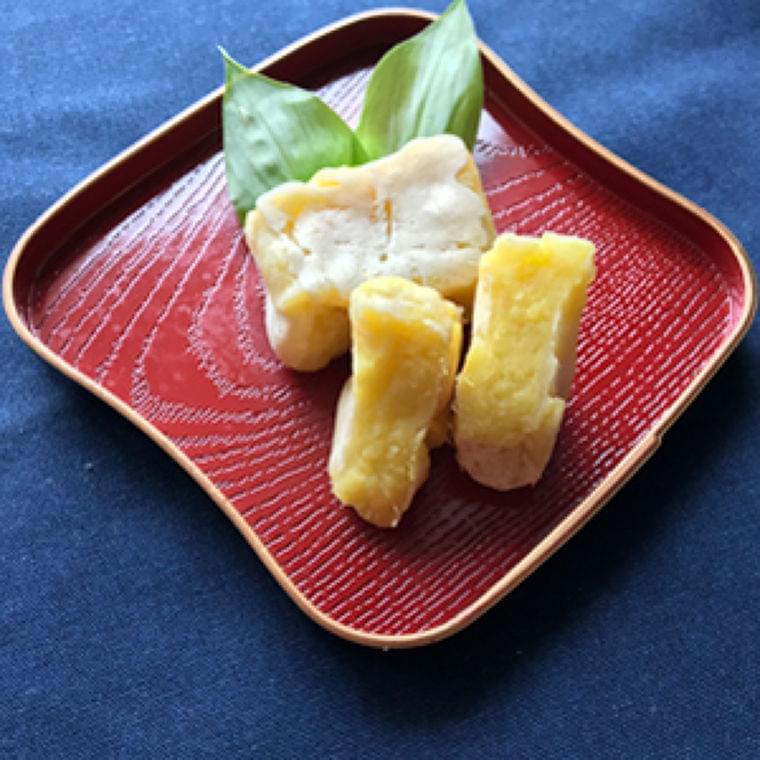 サツマイモとチーズのきんつば風 : yomiDr. / ヨミドクター(読売新聞)