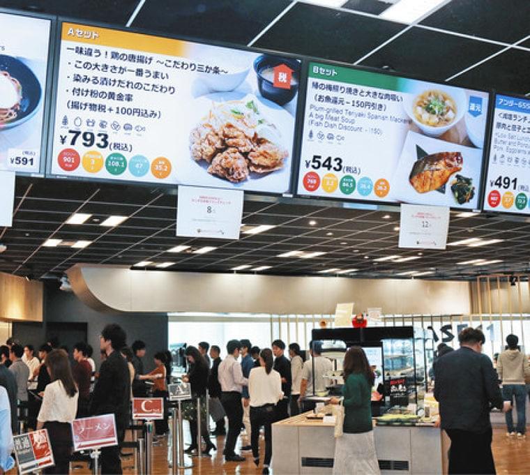 東京新聞:食に配慮し「健康経営」 社員食堂で食育・休憩所におかず…:暮らし(TOKYO Web)