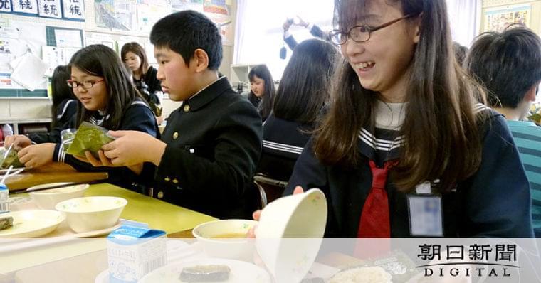 徳島)炊き出しイメージ「防災給食」 鳴門の幼小中:朝日新聞デジタル