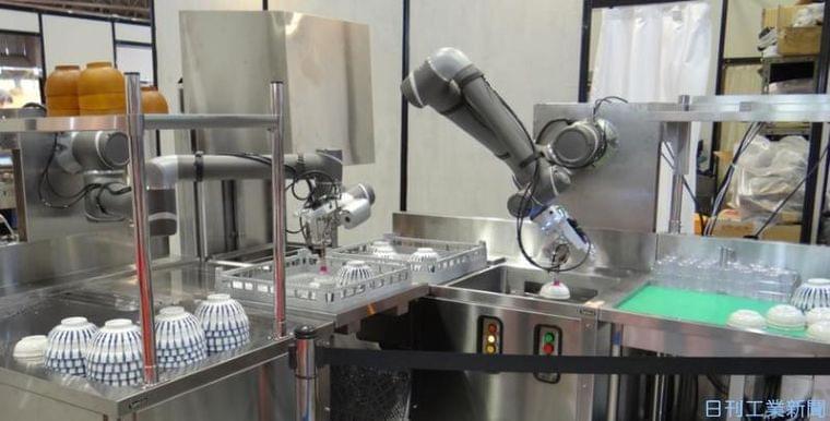厨房ロボが熱い!食材、調理、AIと融合して異次元の味覚へ|ニュースイッチ by 日刊工業新聞社