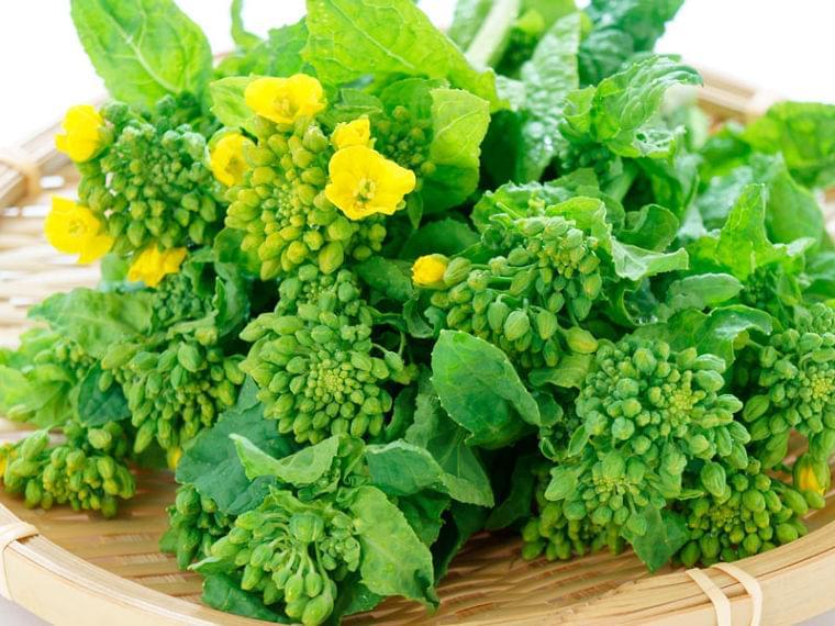 免疫力アップ! 冬から春が旬の「菜花(菜の花)」の健康効果 - ウェザーニュース