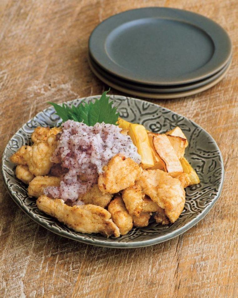 揚げ物なのに低糖質。大根と鶏のから揚げおろしダレがけ(ESSE-online) - Yahoo!ニュース