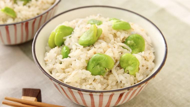 ソラマメとシラスの混ぜご飯…減塩でもおいしい : yomiDr./ヨミドクター(読売新聞)