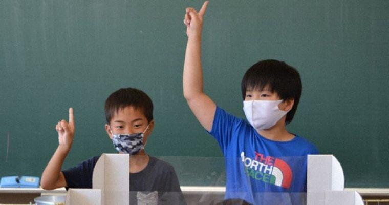 手話を学ぼう‼ コロナで無言の給食時間に 大分の小学校 - 毎日新聞